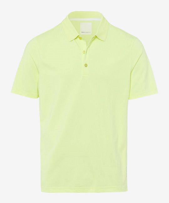 Brax heren golfpolo Pharell lime