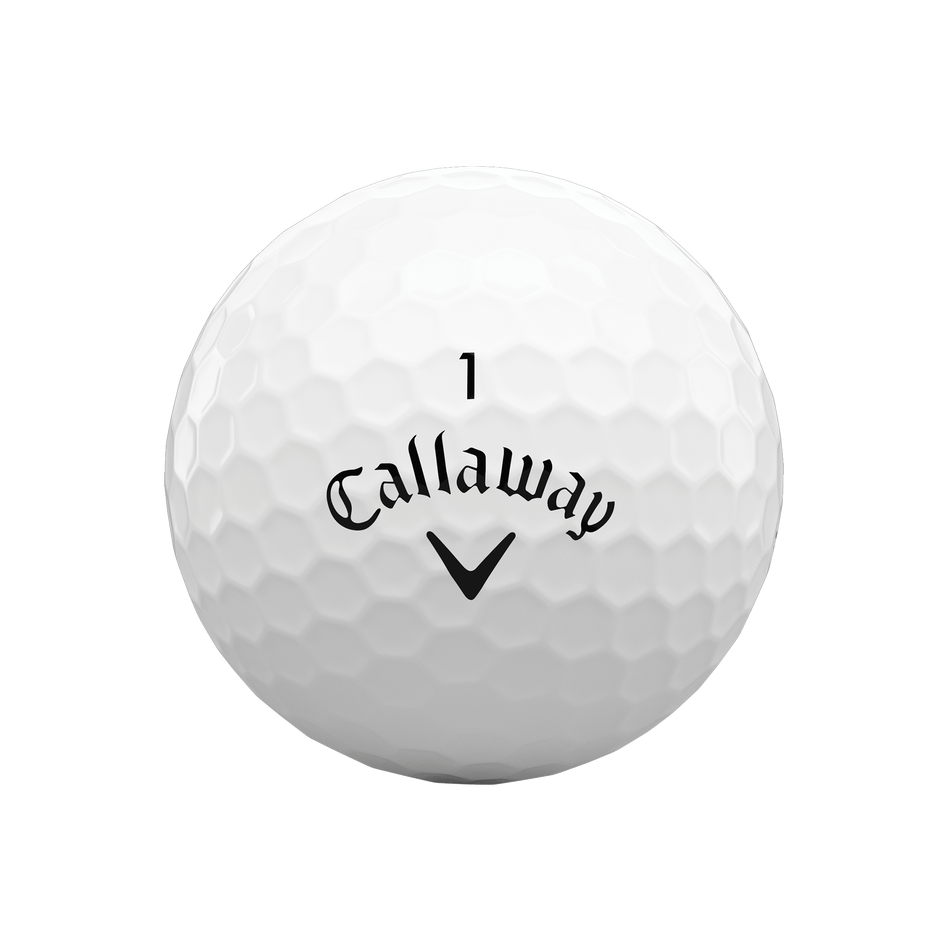 Callaway golfballen Warbird wit