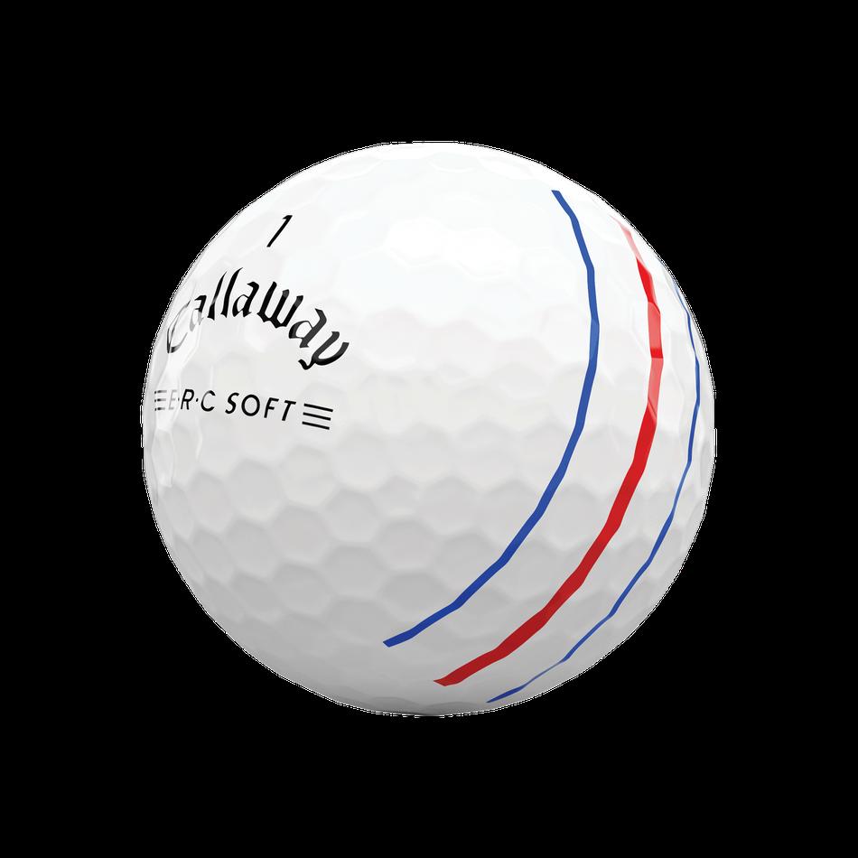 Callaway golfballen ERC Soft Triple Track wit