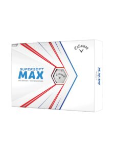 Callaway golfballen Supersoft Max wit