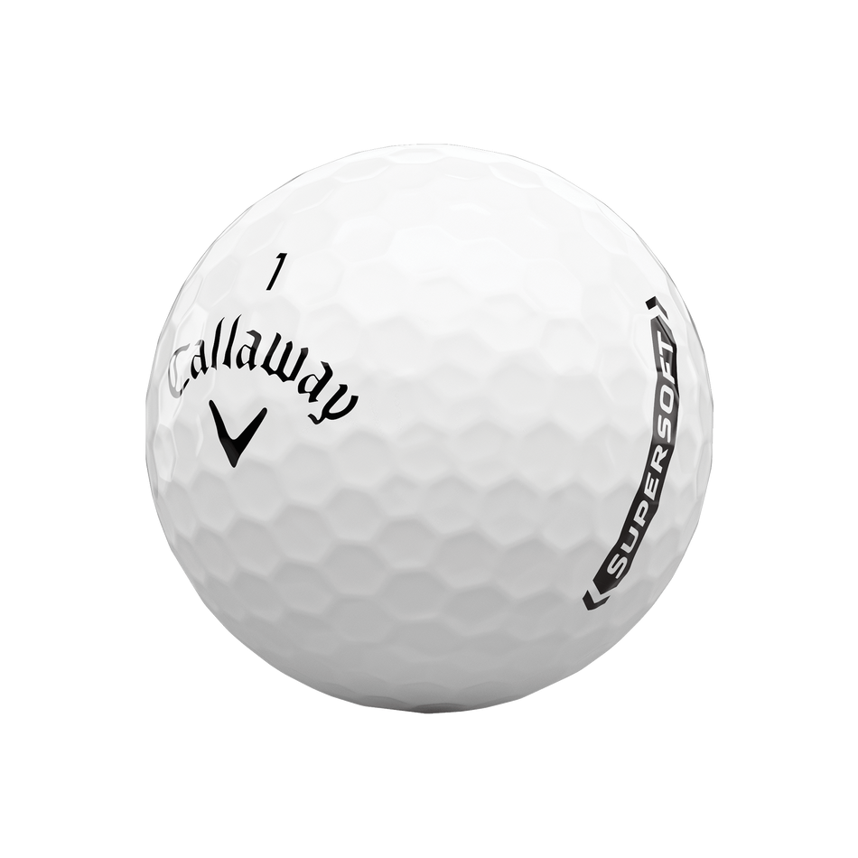 Callaway golfballen Supersoft wit