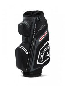 Callaway golftas Chev 14 Dry Cart Bag zwart-wit-grijs