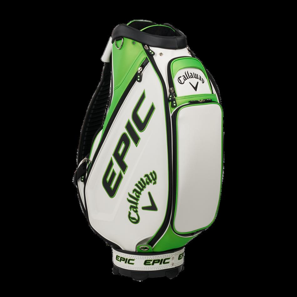 Callaway golftas Epic Staff Bag wit-groen-zwart