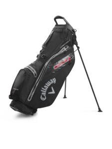 Callaway golftas Hyper Dry C Stand Bag zwart-grijs