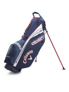 Callaway golftas Hyper Dry C Stand Bag navy-wit