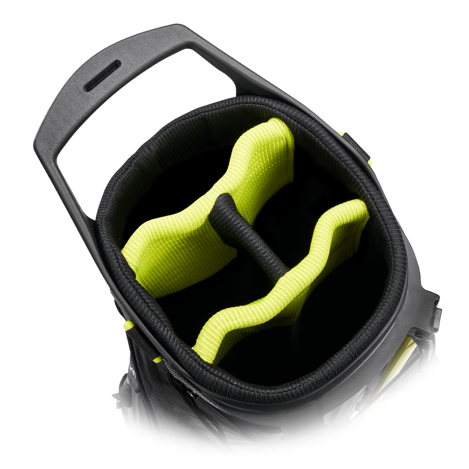 Callaway golftas Hyper Dry C Stand Bag zwart-geel
