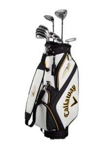 Callaway heren golfset Warbird Cart Bag graphite shafts (14pc)