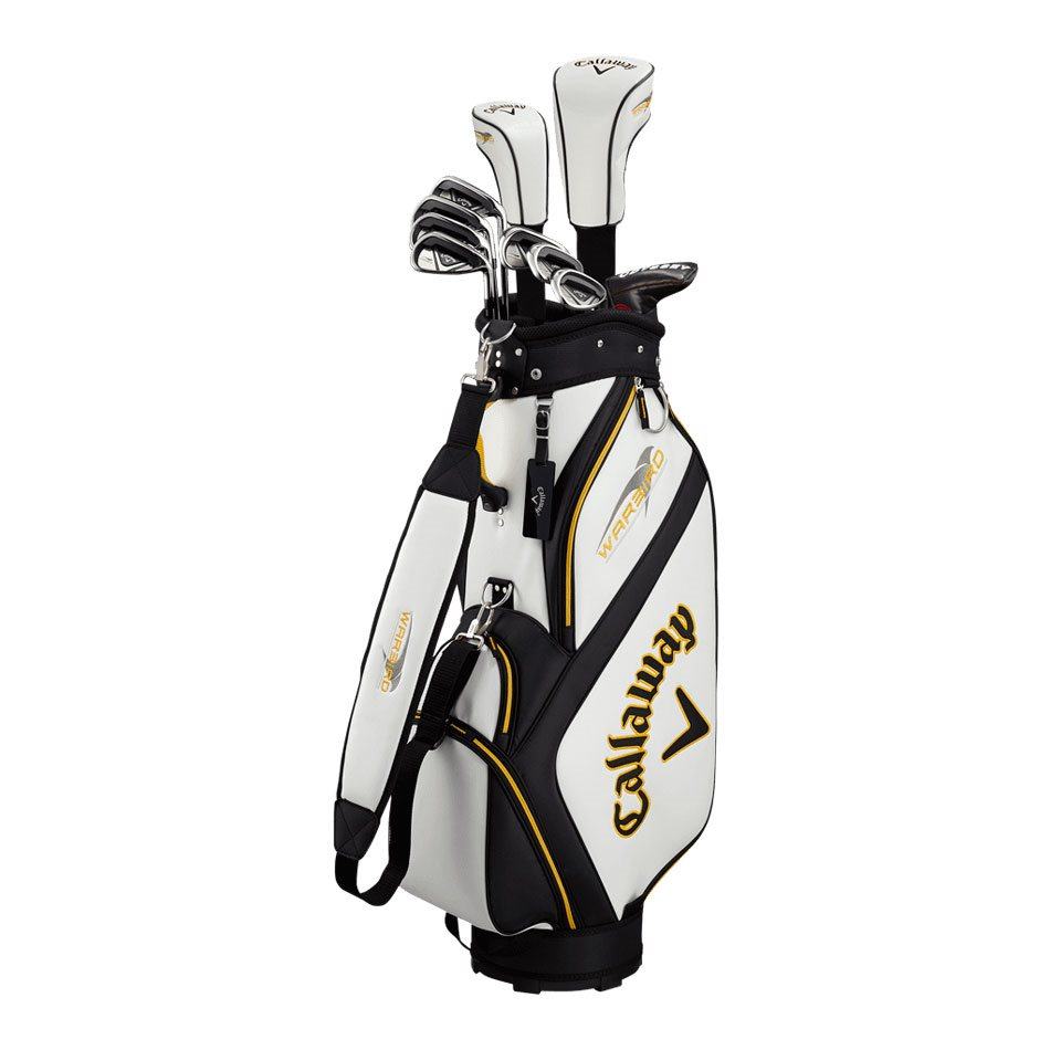 Callaway heren golfset Warbird Cart Bag graphite shafts