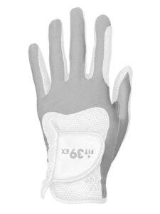 Fit39ex unisex golfhandschoen wit-grijs
