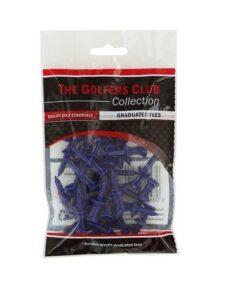 Golfers Club golftees Step Height tee 18mm blauw