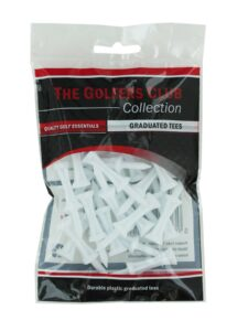 Golfers Club golftees Step Height wit 31mm