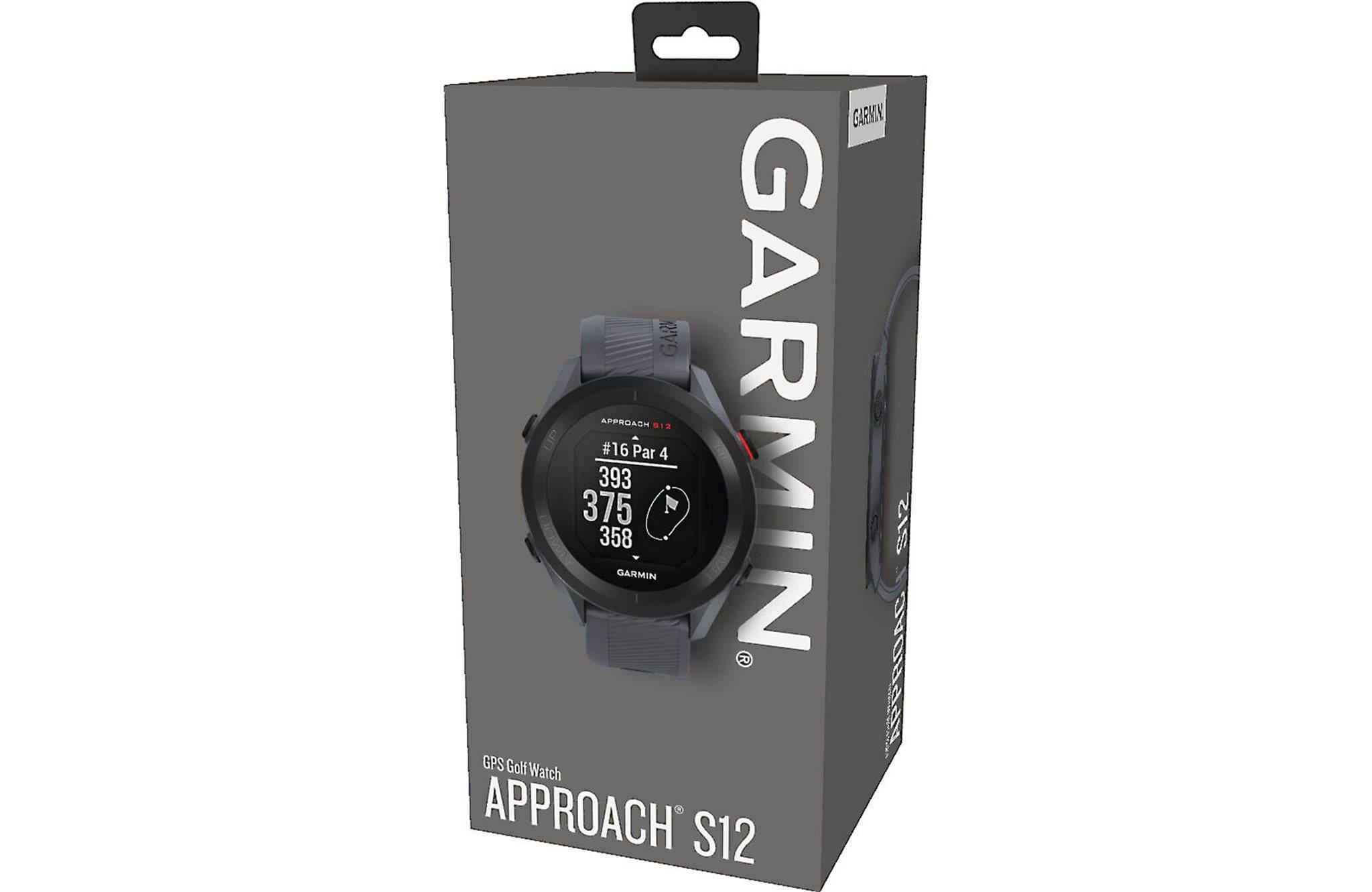 Garmin golfhorloge Approach S12 granite blue