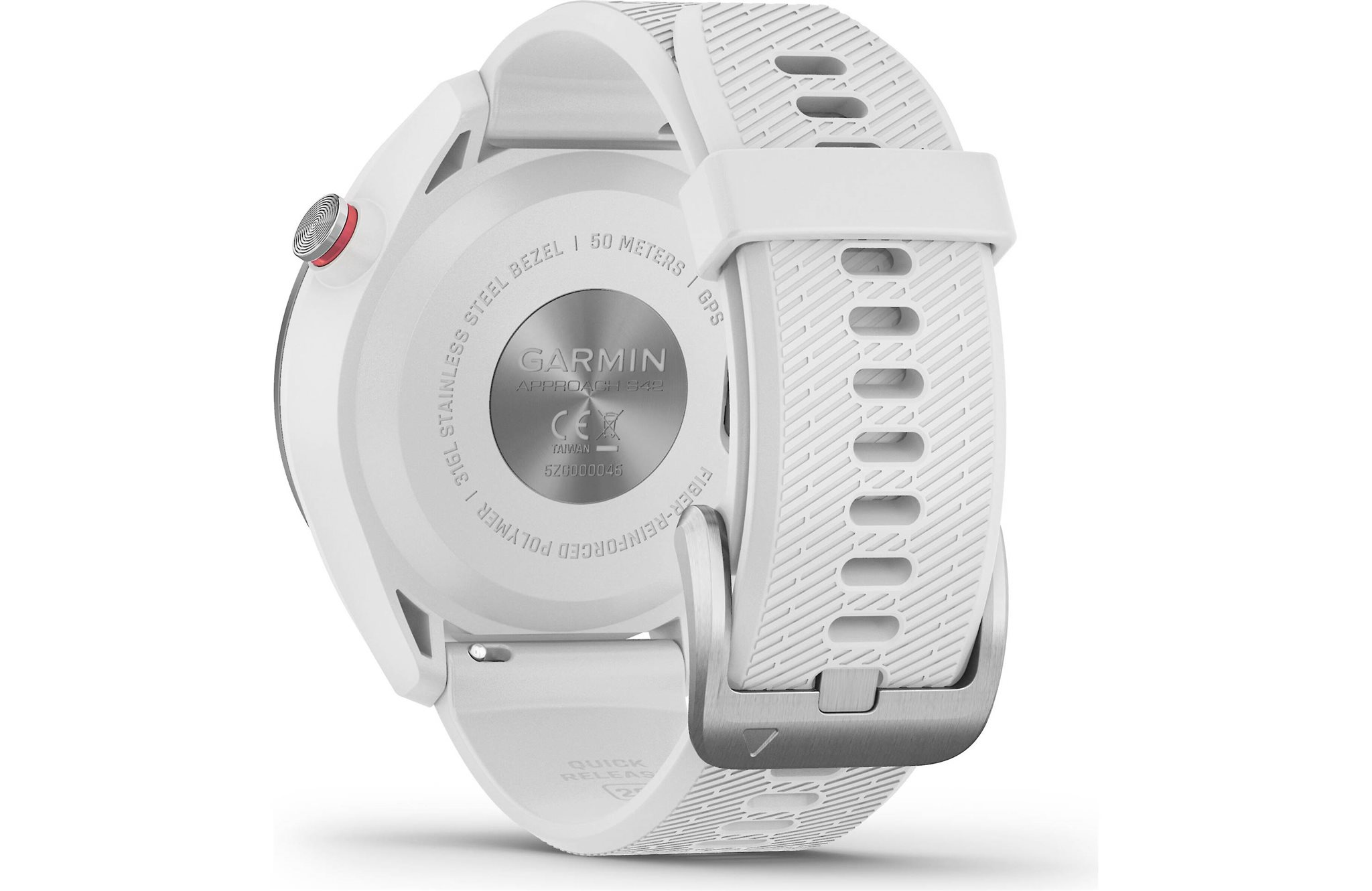 Garmin golfhorloge Approach S42 staal