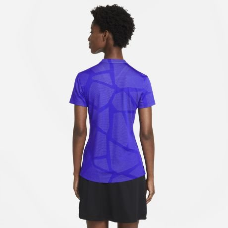 Nike dames golfpolo concord paars