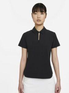 Nike dames golfpolo Flex UV Ace zwart