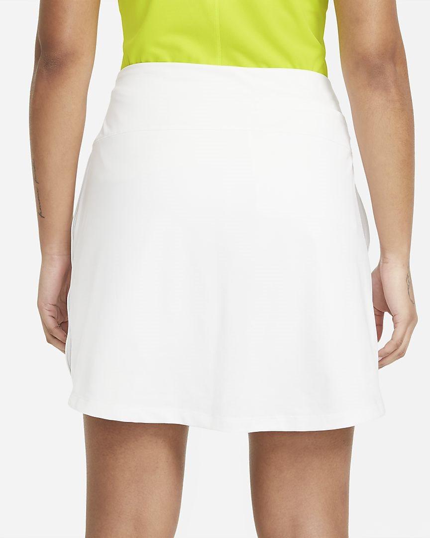Nike dames golfrokje Dri-FIT UV Victory wit