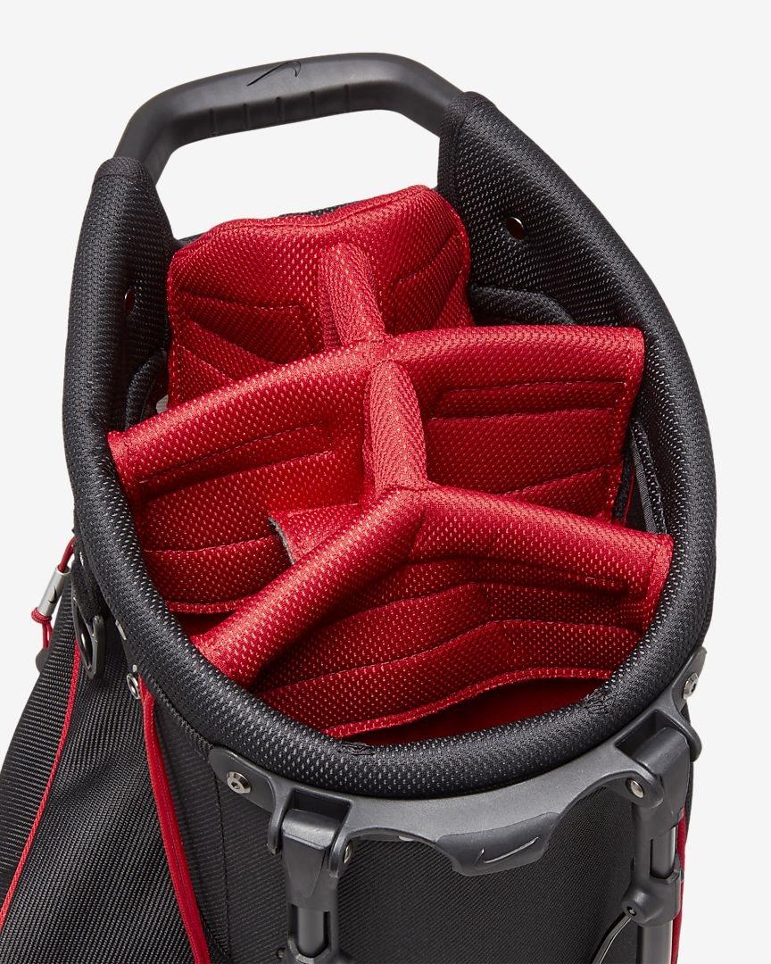 Nike golftas Air Sport Stand Bag grijs-zwart-rood