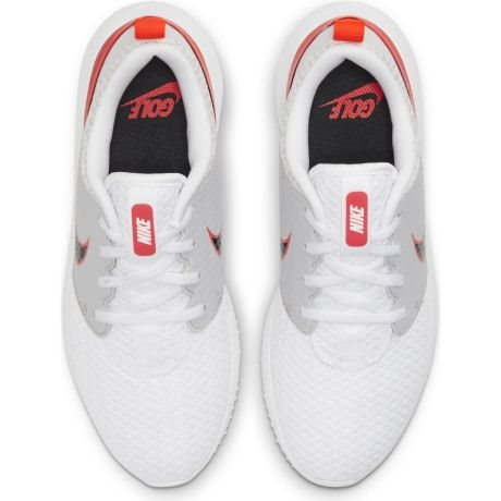 Nike junior golfschoenen Roshe G wit-grijs-rood
