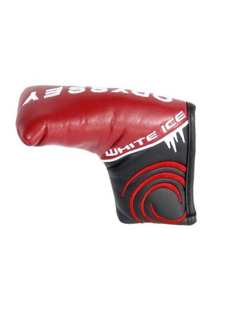 Odyssey headcover putter Blade White Ice zwart-rood