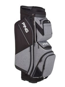 Ping golftas Pioneer Cart Bag grijs-zwart