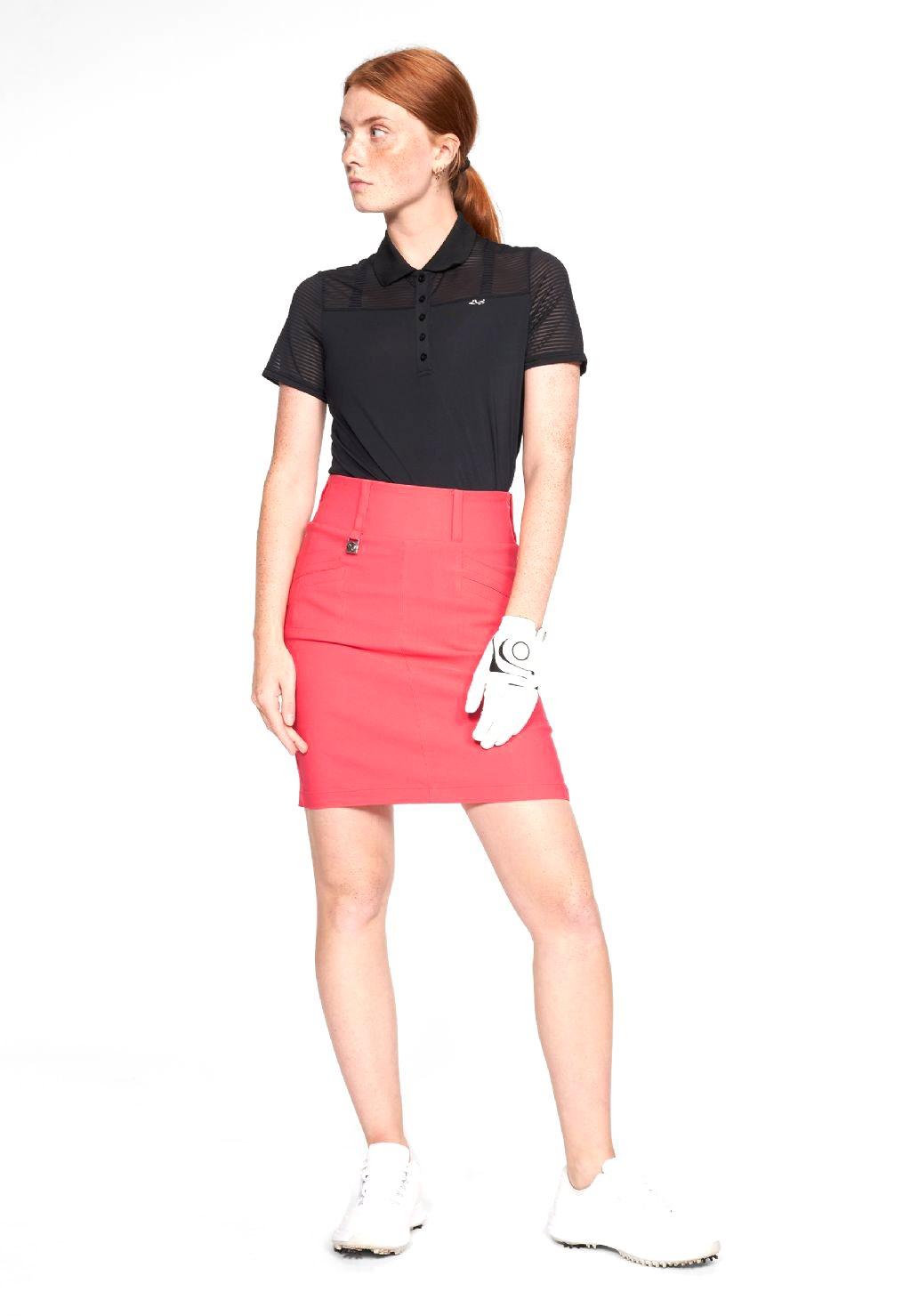 Röhnisch dames golfpolo Miko zwart