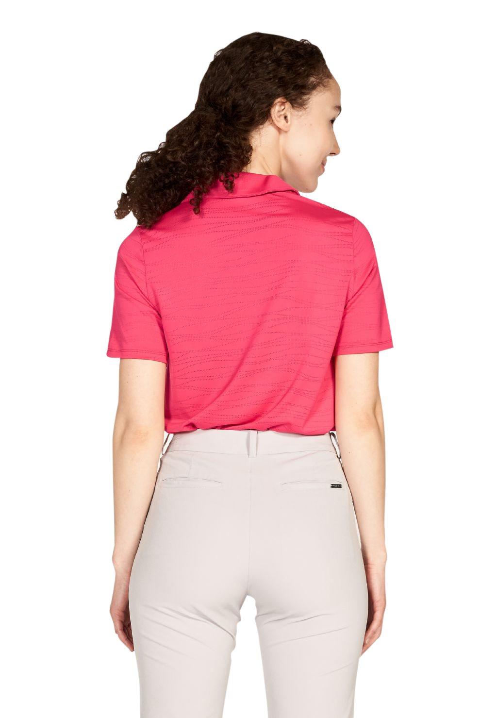 Röhnisch dames golfpolo Zoey berry-rood