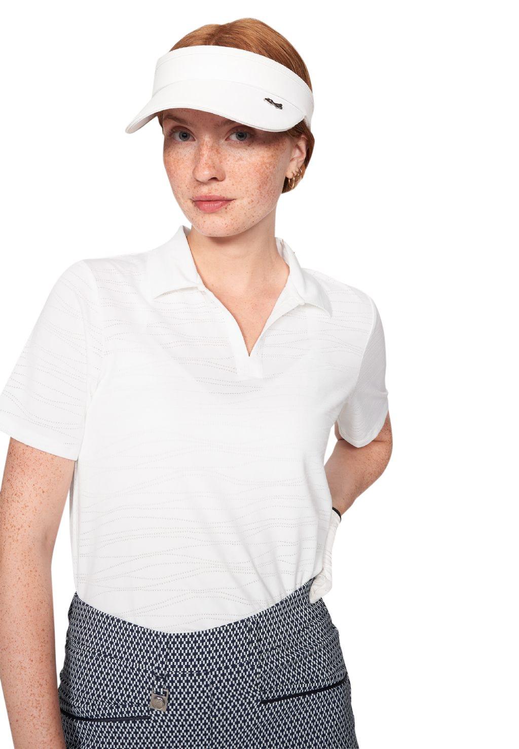 Röhnisch dames golfpolo Zoey wit