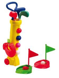 Silverline golfsetje Mini geel