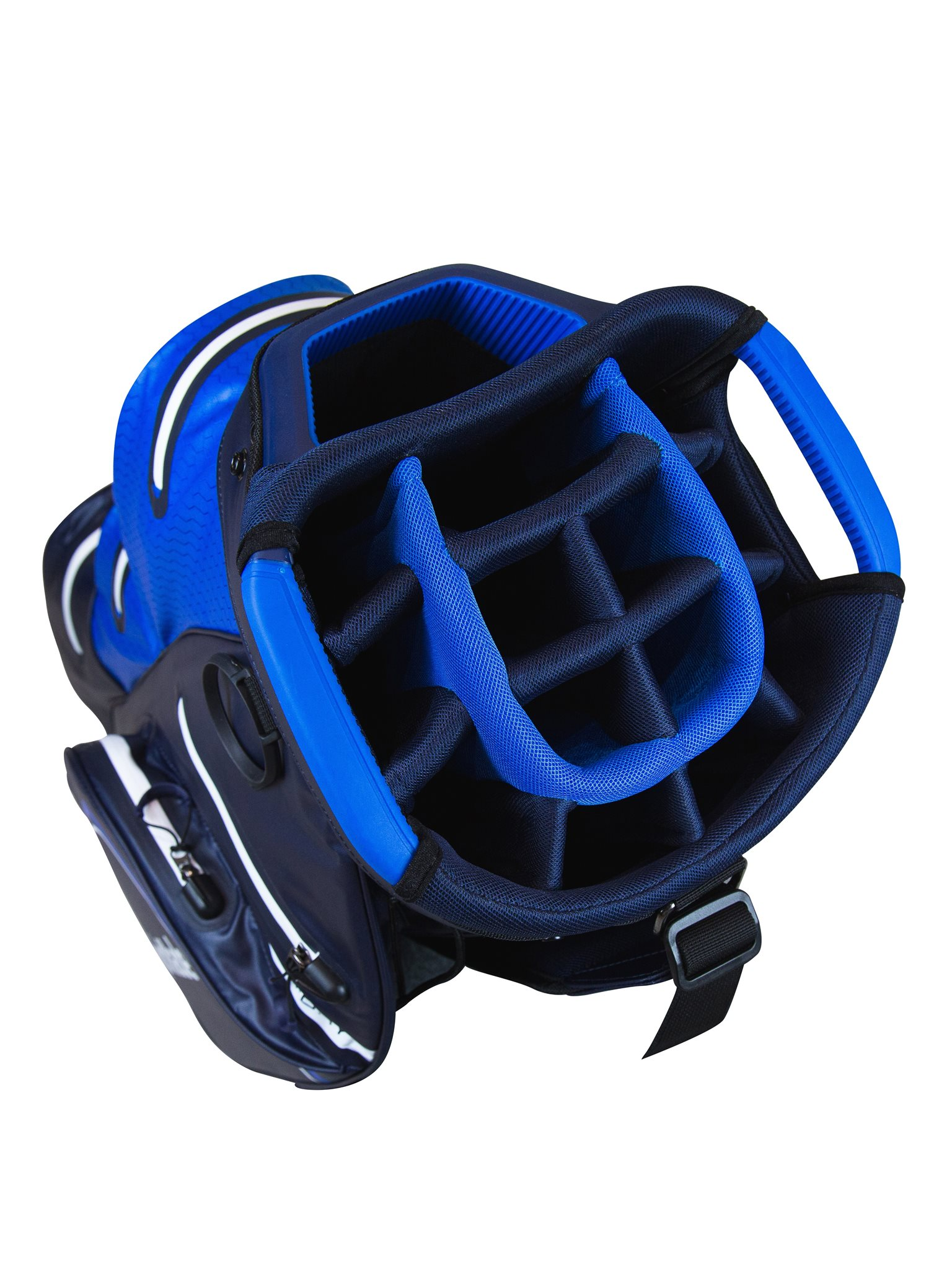 TaylorMade golftas Storm-Dry Waterproof Cart Bag navy-blauw