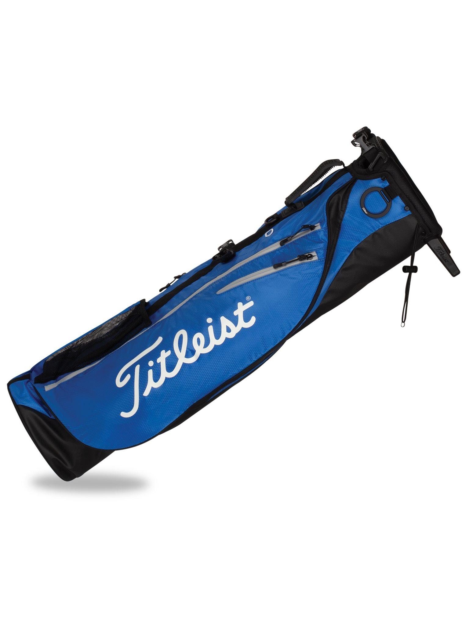 Titleist golftas Premium Carry Bag blauw-zwart