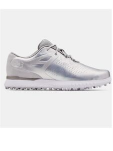 Under Armour dames golfschoenen Charged Breathe SL zilver-wit