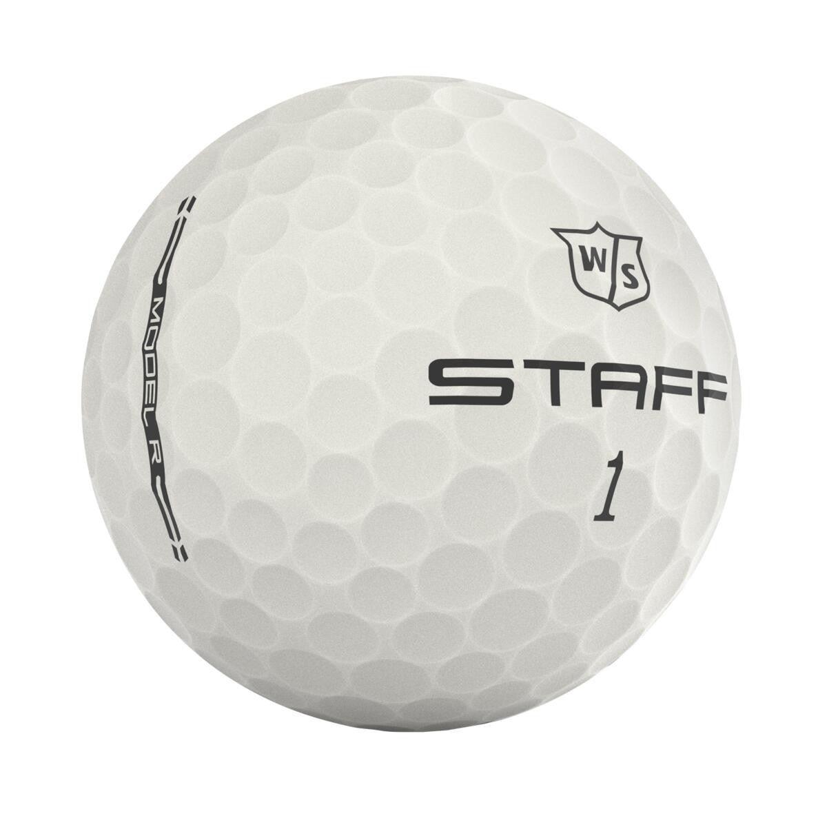 Wilson Staff golfballen Staff Model R wit