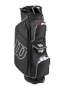 Wilson Staff golftas Prostaff Cart Bag zwart-zwit