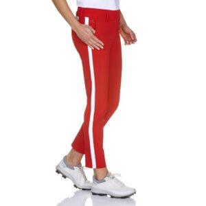 Alberto dames golfpantalon Lucy 7/8 3xDry rood