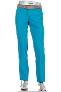 Alberto heren golfpantalon Rookie 3xDry Cooler aquablauw