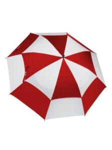 BagBoy golfparaplu Wind Vent Telescope rood-wit