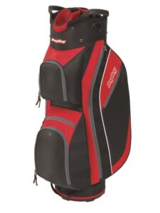 BagBoy golftas Super Lite Cart Bag zwart-rood