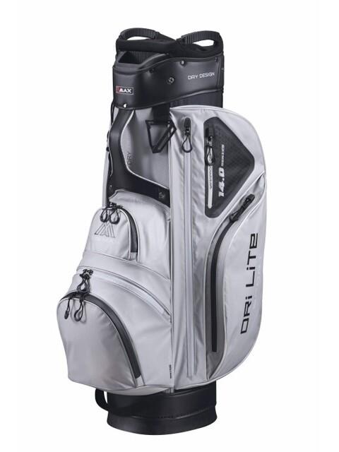 Big Max golftas Dri Lite Sport Cart Bag grijs-zwart