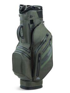 Big Max golftas Aqua Style 3 Cart Bag olijfgroen