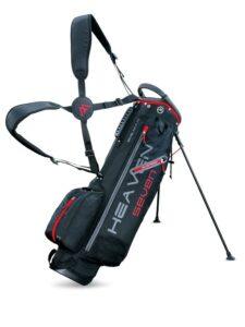 Big Max golftas Heaven 7 Stand Bag zwart-rood