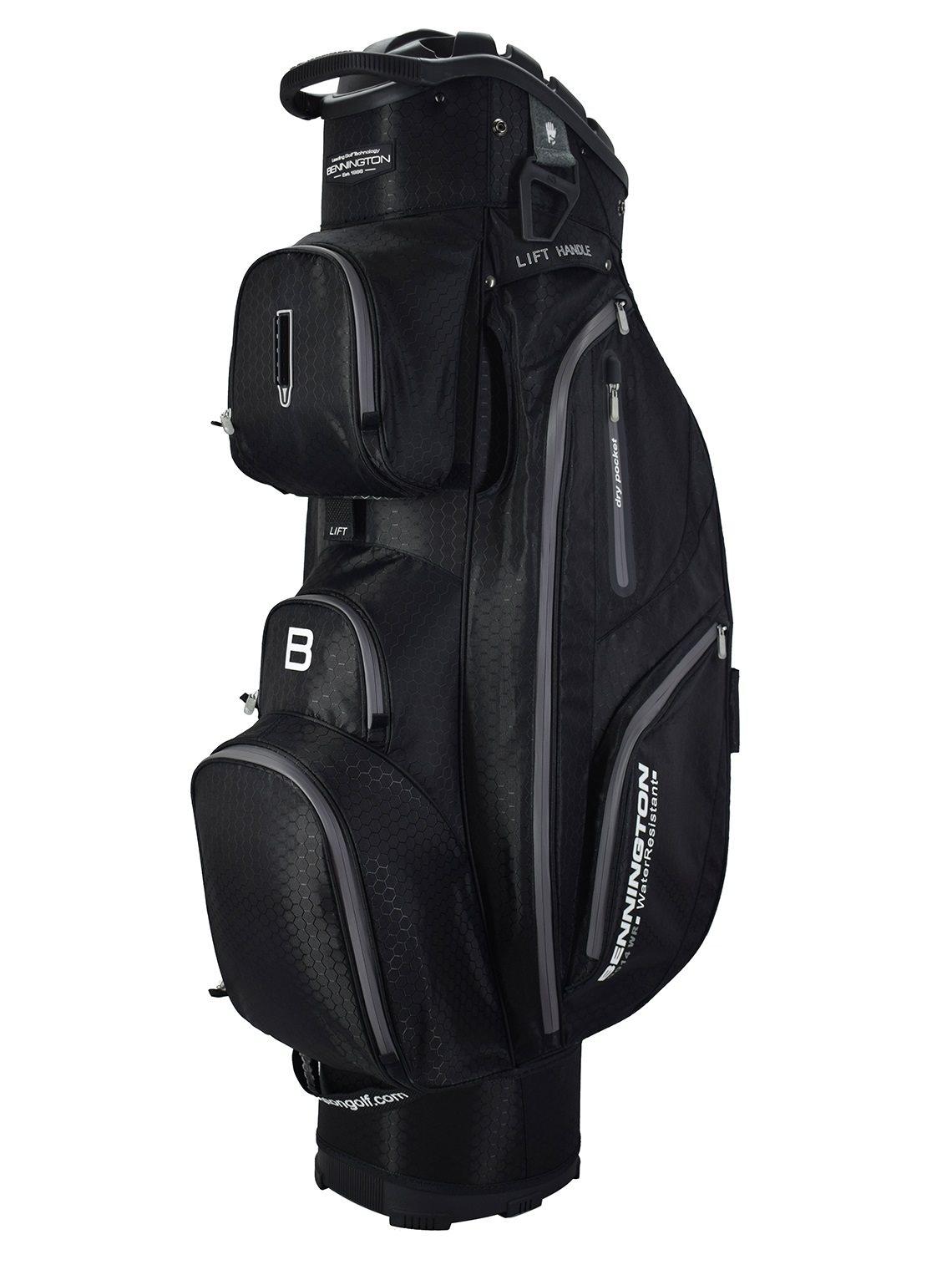 Bennington golftas QO14 WR Cart Bag black