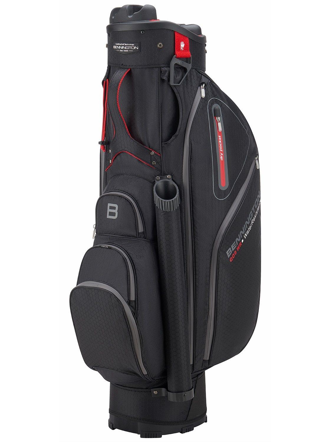 Bennington golftas QO9 WR Cart Bag zwart