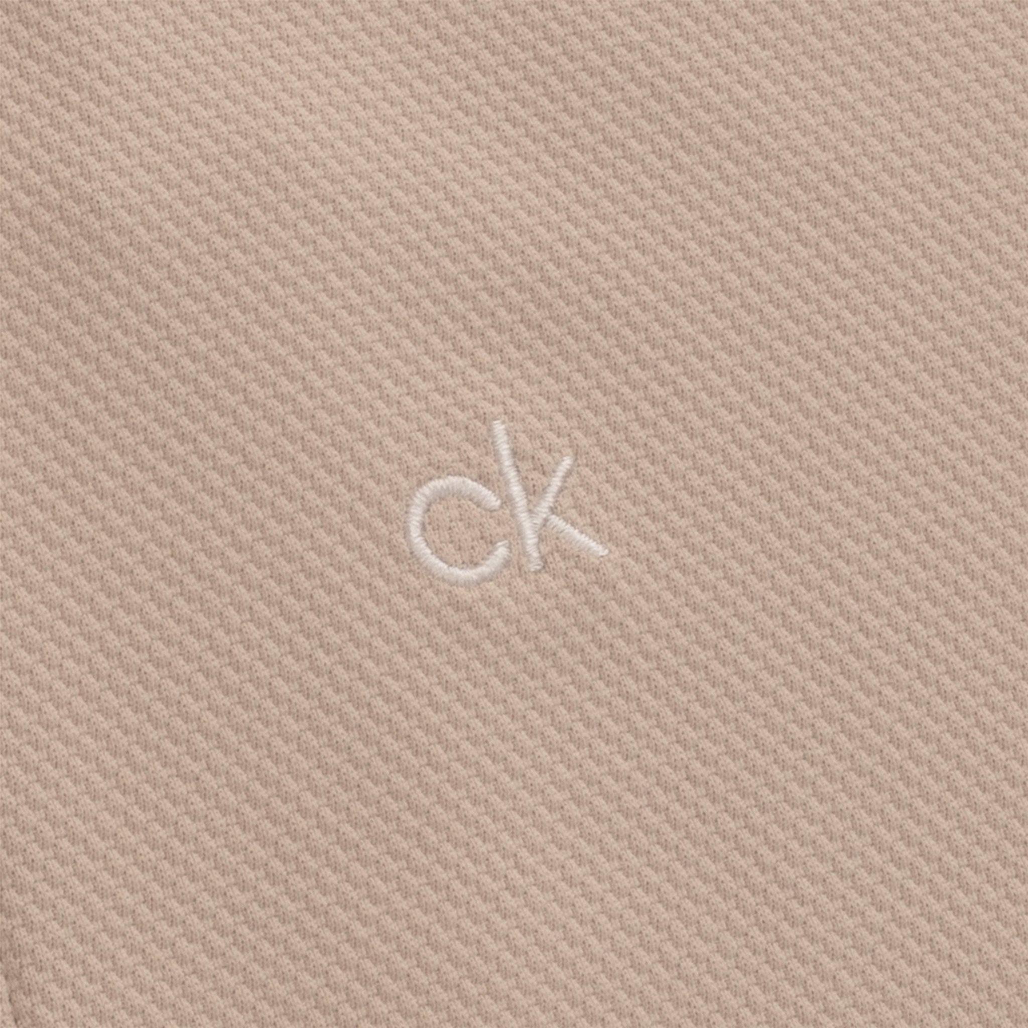 Calvin Klein dames golfpolo cap mouw Ness zand