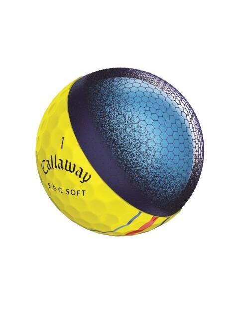 Callaway golfballen ERC Soft geel