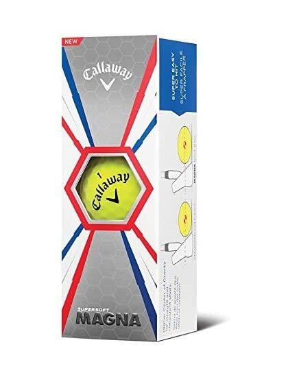 Callaway golfballen SuperSoft Magna sleeve