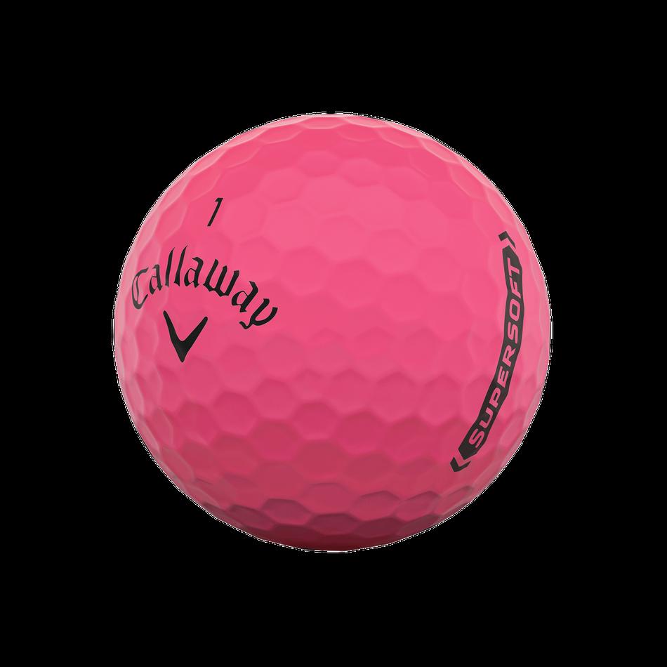 Callaway golfballen Supersoft matte pink