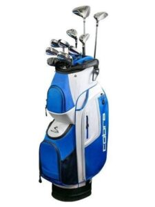 Cobra heren golfset FLY XL graphite shaft 6-SW-Putter Cart Bag