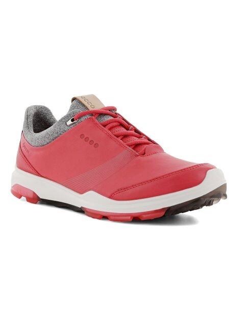 Ecco dames golfschoenen Biom Hybrid 3 rozerood-wit