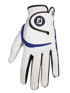 FootJoy junior golfhandschoen wit-blauw