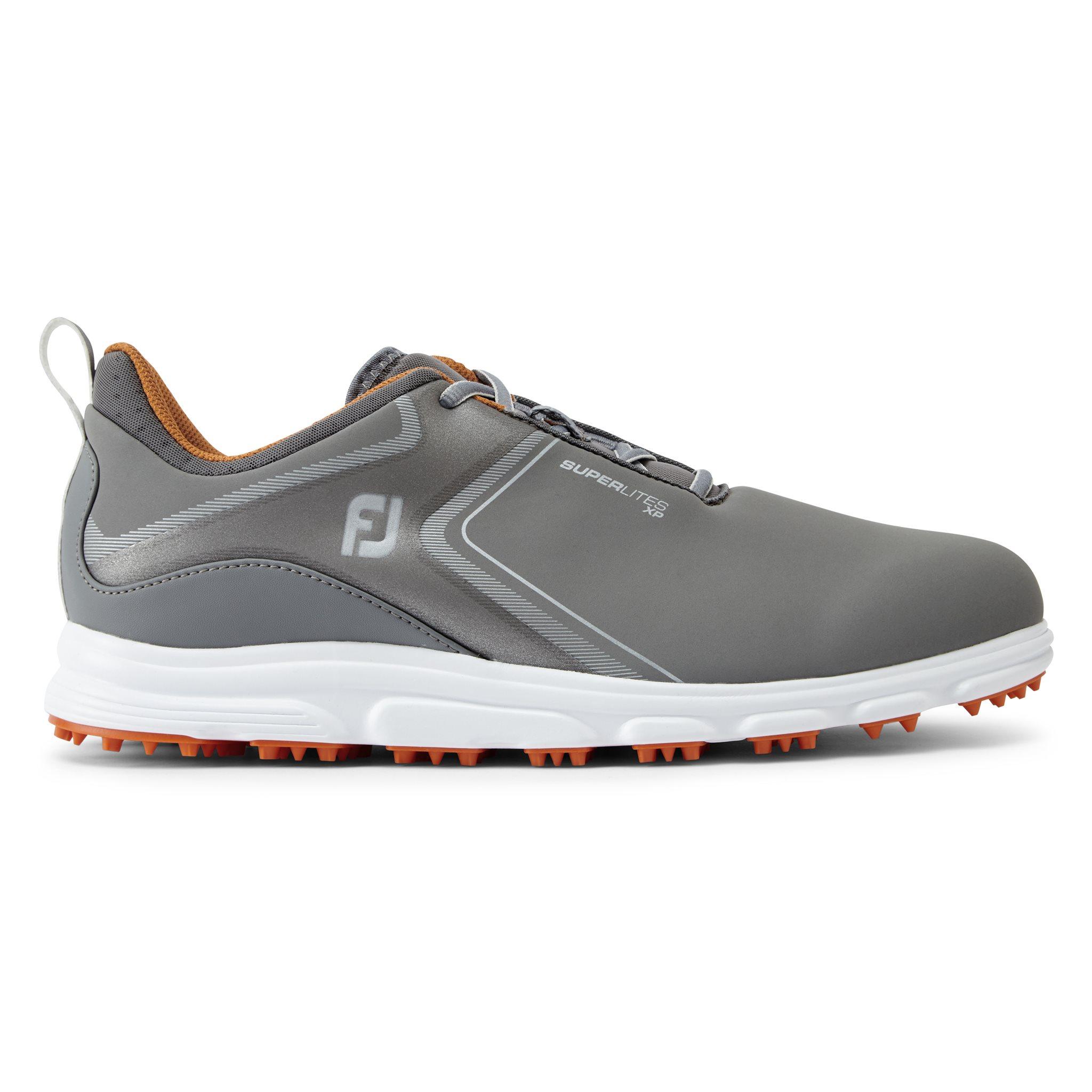 FootJoy heren golfschoenen SuperLites XP grijs-oranje
